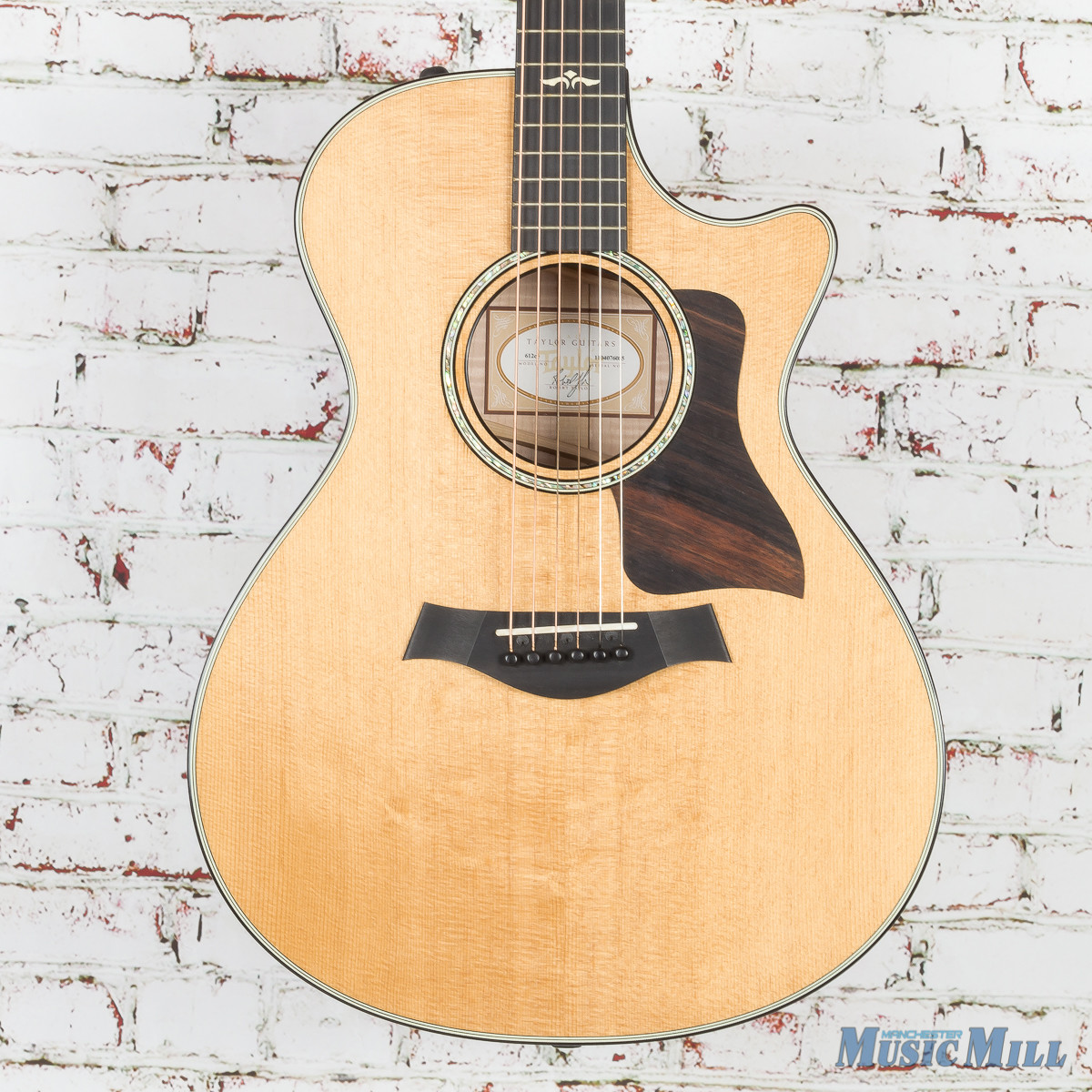 2016 Taylor 612ce Acoustic Electric Guitar Natural