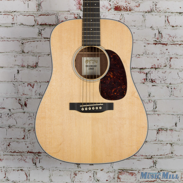 Martin Dreadnought Junior Acoustic Guitar Natural USED