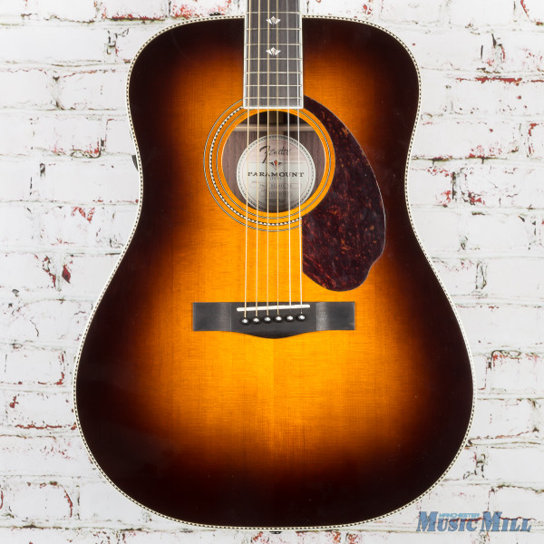 Fender PM-1 Deluxe Acoustic Electric Guitar Sunburst