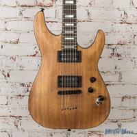 Schecter C1 Koa Electric Guitar Natural Stain