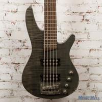 Ibanez SRX595 5-String Electric Bass Trans Black