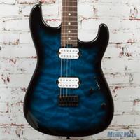 Charvel San Dimas SD1 HH Electric Guitar Blue Burst