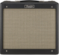 "Fender Blues Jr IV Black 15w 1x12"" Tube Combo Guitar Amplifier"