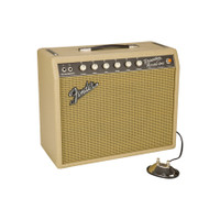 "Fender 65 Princeton Reverb Limited Edition Tan 1x10"" 12w Tube Guitar Combo Amp"