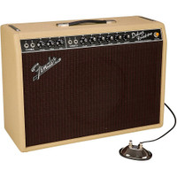 Fender LTD Edition 1965 Deluxe Reverb Tube Guitar Combo Amplifier Tan - Open Box