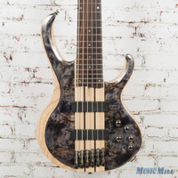 Ibanez BTB846S 6 String Bass Guitar Deep Twilight Low Gloss Demo