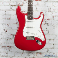 2003 Fender Highway One Stratocaster Electric Guitar Candy Apple Red Refin