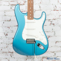 Fender Standard Stratocaster Electric Guitar Lake Placid Blue Pau Ferro Fingerboard