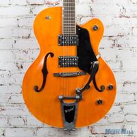 Used Gretsch G5120 Hollow Body Electric Guitar Orange