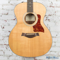 Used Taylor 114e Grand Auditorium Acoustic Electric Guitar Natural