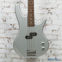 Ibenez GSR100 4-String Electric Bass Silver