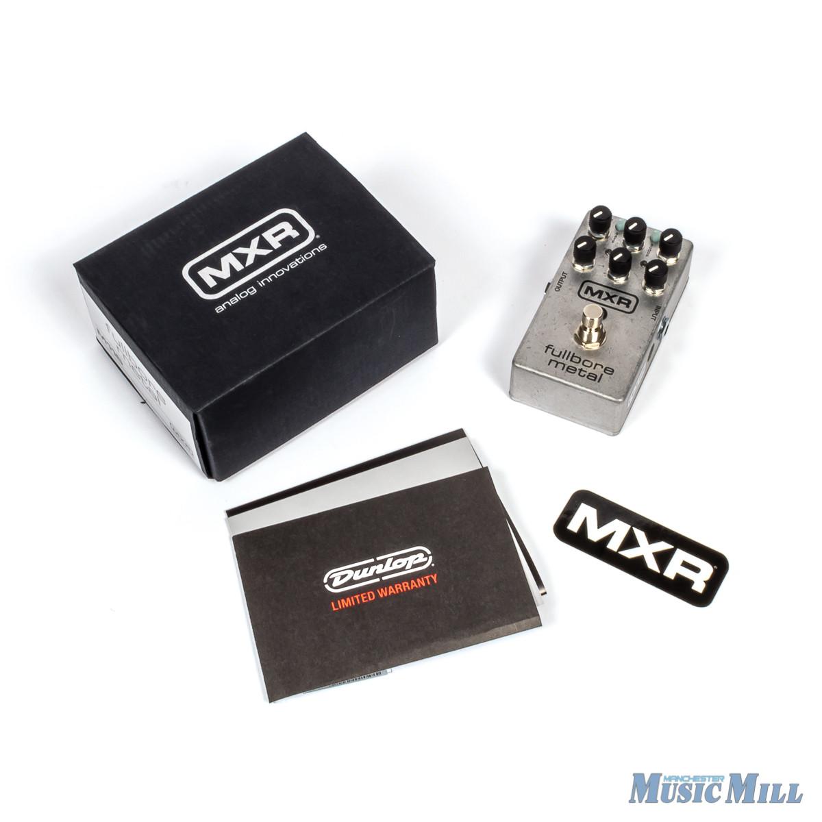 MXR Fullbore Metal Distortion Pedal latest
