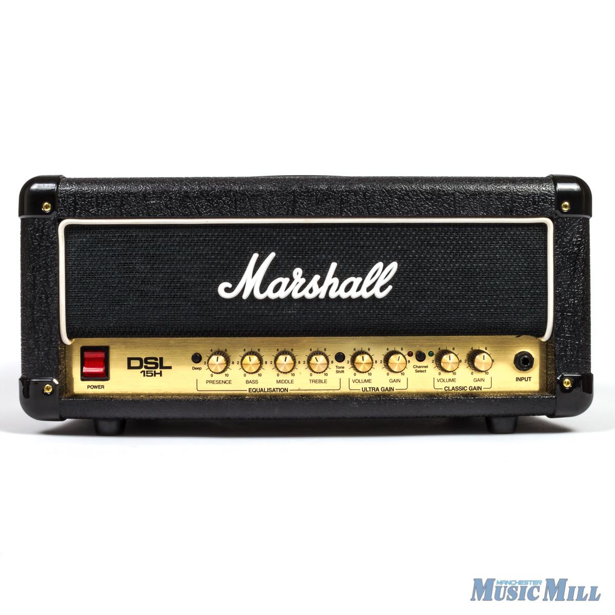 Marshall DSL15H Tube Amp Head (Used) (MARSHALLDSL15HU)