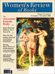 Women's Review of Books Volume 25, Issue 6