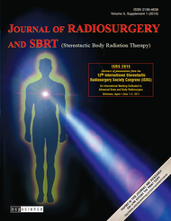 Journal of Radiosurgery and SBRT Supplement Volume 3, Supplement 1 (PDF)