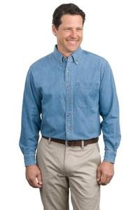 Port Authority® Long Sleeve Denim Shirt