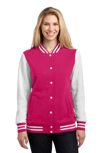 Sport-Tek® Ladies Fleece Letterman Jacket