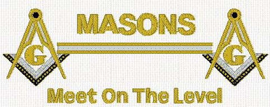 Masons Meet on the Level