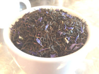 Earl Grey with Blue Flower