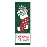 Holiday Wishes Stocking Banner