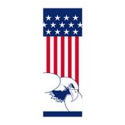 Flag & Eagle Banner