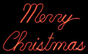 LED Merry Christmas Sign