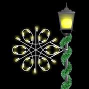 2' Spiral Snowflake