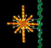 6' Enhanced Golden Starburst