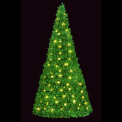 """Mountain Pine Closed Style Wide Base """"Spiral"""" Popup Tree"""