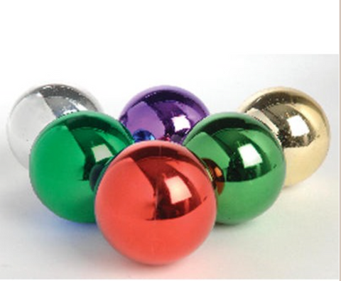 """These Superior Studio UV Ornaments have a shiny finsih on them that makes them durable and scratch resistant.   The ornaments come in purple, green, red, cherry, gold, and silver.   The ornaments come in 4"""", 5 1/2"""", and 8"""" sizes.   Bulbs that are 4"""" must be ordered by the dozen. 5 1/2"""" and 8"""" ornaments must be ordered in per ornament quantities.    Customers ordering 30 or more bulbs must call for discounted price."""