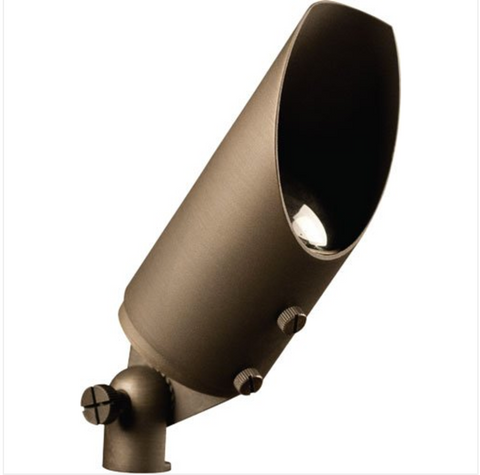 """Advantage Lightsource Big Smoky Flood Light ADV-FL-105B-MR16, these lights are used to highlight large trees, homes, walls, and hedge lines. They come with a stake mount but the base can be mounted on walls or other flat surfaces and adjusted appropriately. The bases can even be mounted on large trees to deliver the """"moon light"""" effect."""