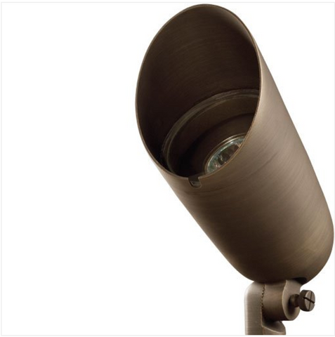 "Advantage Lightsource Luna Grande Flood Light ADV-FL-175B-MR16, these lights are used to highlight large trees, homes, walls, and hedge lines. They come with a stake mount but the base can be mounted on walls or other flat surfaces and adjusted appropriately. The bases can even be mounted on large trees to deliver the ""moon light"" effect."