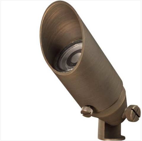"""Advantage Lightsource LED Little Smoky (Integrated) Flood Light ADV-LED-FL-104B-2W, these lights are used to highlight large trees, homes, walls, and hedge lines. They come with a stake mount but the base can be mounted on walls or other flat surfaces and adjusted appropriately. The bases can even be mounted on large trees to deliver the """"moon light"""" effect."""