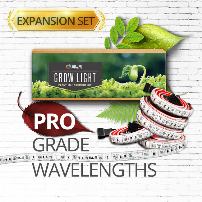 Professional Grade LED Grow Light Strip Expansion Set