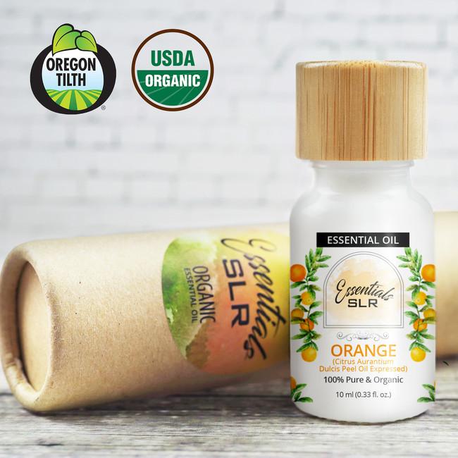 Orange Crescendo (Organic Orange Essential Oil)