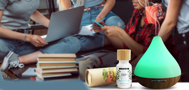 Essential Oils that Actually Help You Study Better in School