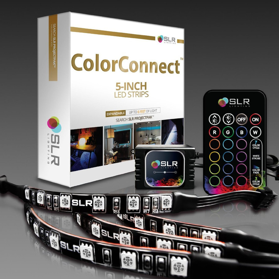ColorConnect Light Kit with 5-inch LED Strips