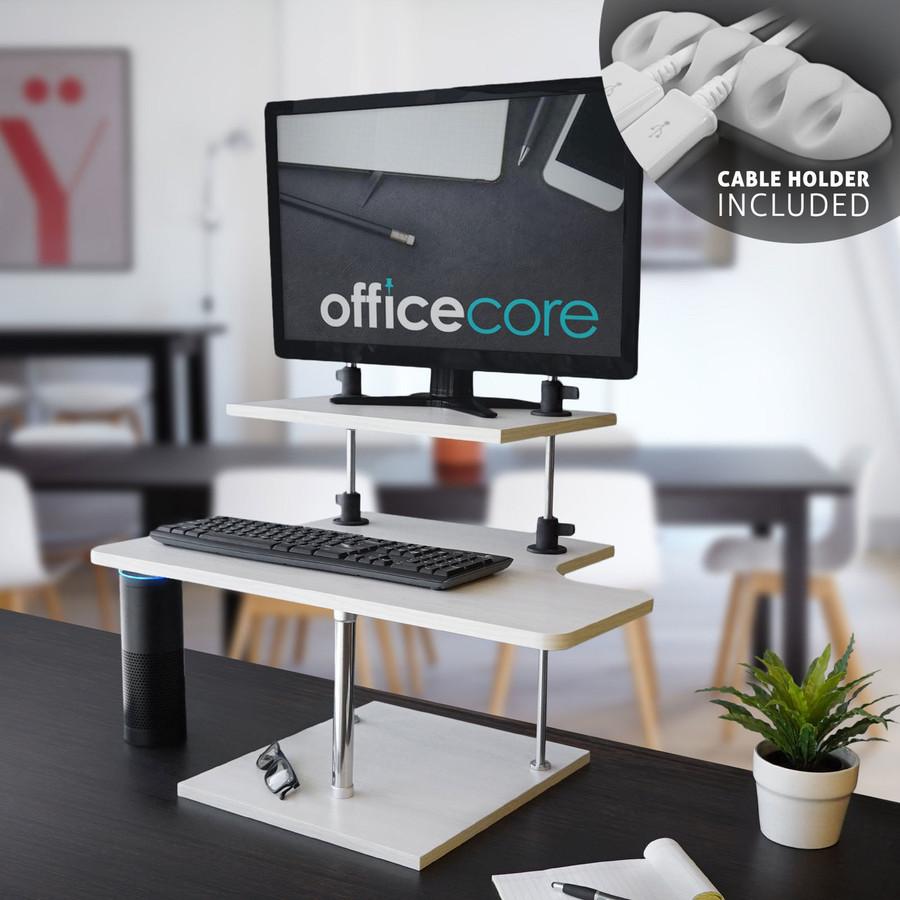 Height Adjustable Standing Desk for Laptops & Desktops