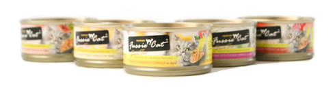 Fussie Cat Assorted Canned Food