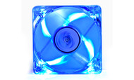 Deepcool Xfan 80L Transparent 80mm Cooling Fan with Blue LED