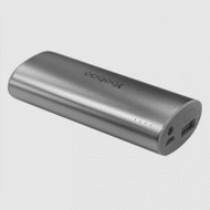 Yoobao Silver Magic Wand Power Bank, 6200mAh