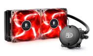 DEEPCOOL GAMER STORM MAELSTROM 240T RED AIO LIQUID COOLER
