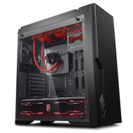 DEEPCOOL DUKASE LIQUID MID TOWER CASE W/ 240MM LIQUID COOLING WITH UPGRADED LIGHTING SYSTEM