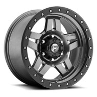 Fuel Off-Road Anza Wheel  - Matte Anthracite w/ Black Ring