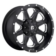Fuel Off-Road Boost Wheel - Black/Mill Machined