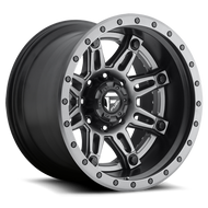 Fuel Off-Road Hostage II Rear Dually Wheel - Chrome & Anthracite