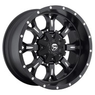 Fuel Off-Road Krank Wheel - Black & Milled