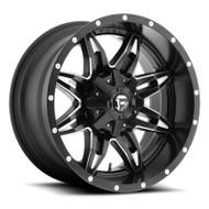 Fuel Off-Road Lethal Wheel - 1-Pc. Black & Milled