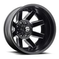 Fuel Off-Road Maverick Rear Dually Wheel - Black & Milled