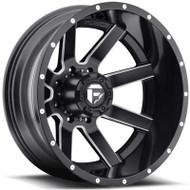 Fuel Off-Road Maverick Rear Dually Wheel - Black/Milled/Chrome